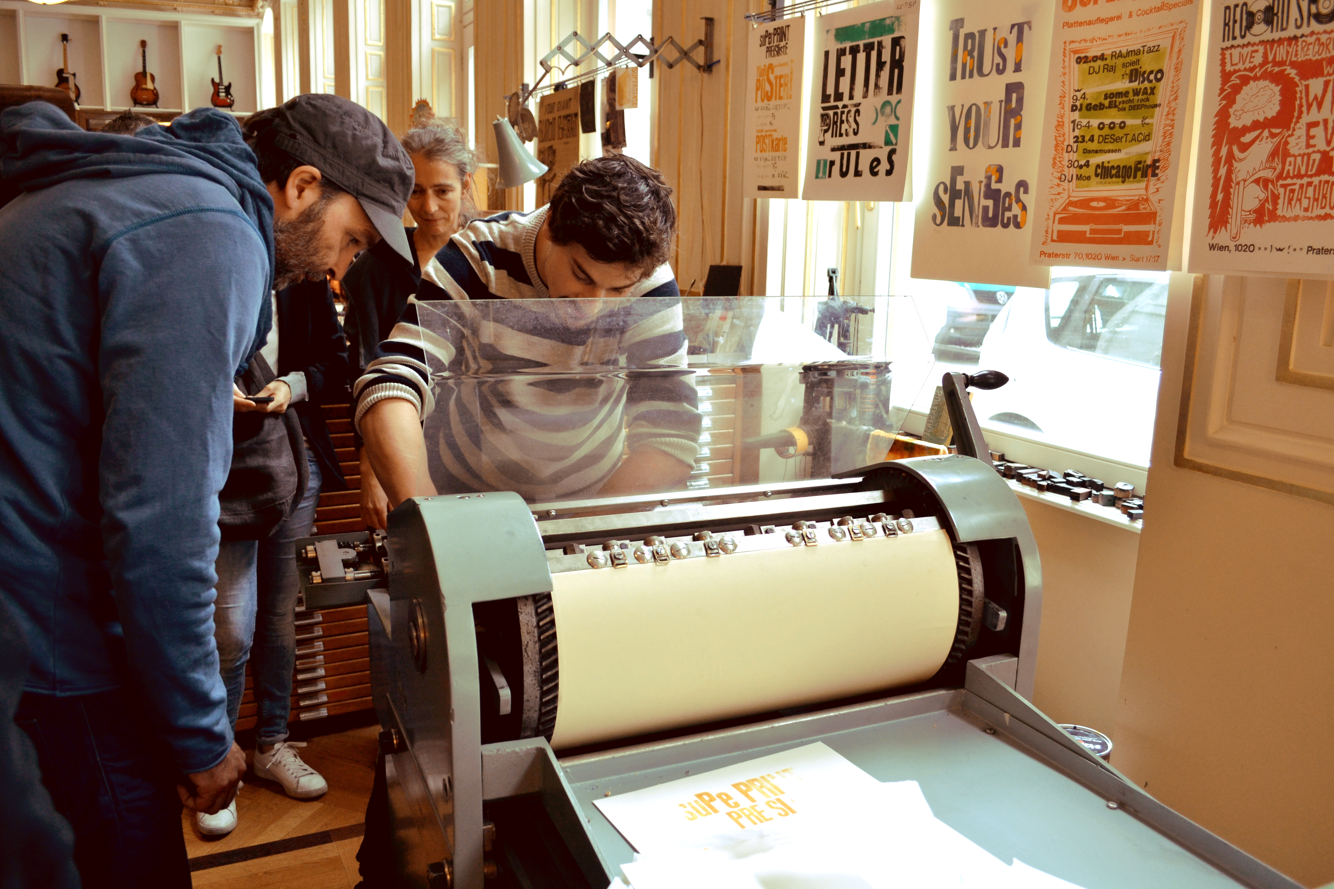 Basic Letterpress workshop